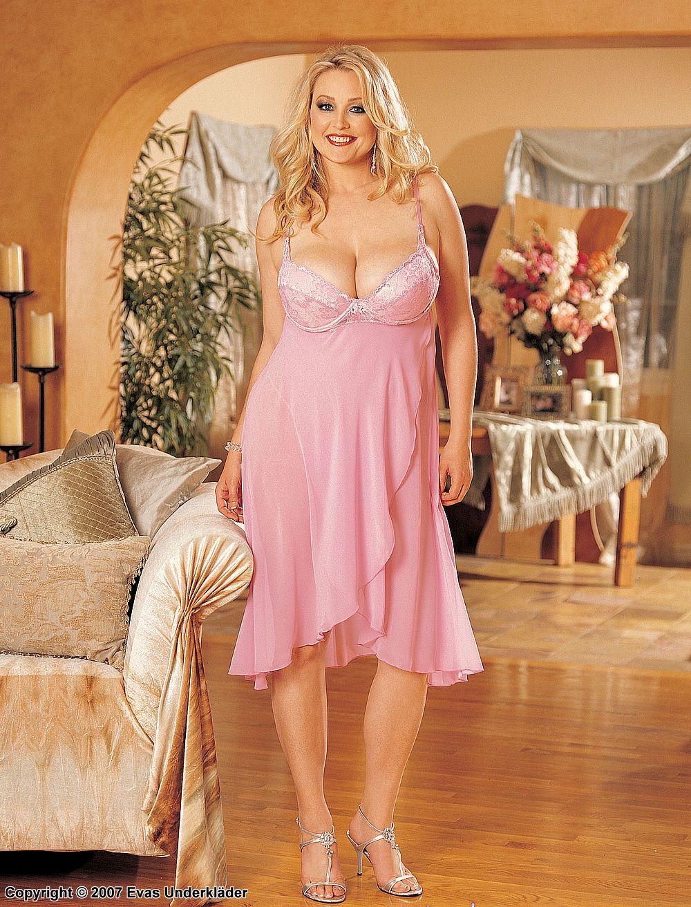 Klänning till bröllop plus size